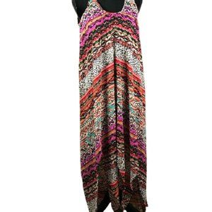CUPIO DRESS HI-LOW AZTEC DESIGN SMALL LINED
